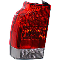 Driver Side, Lower Tail Light, With bulb(s) - Clear Lens