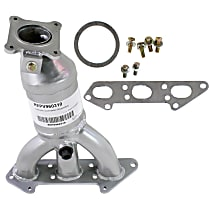 Front Driver Side Catalytic Converter with Integrated Exhaust Manifold For Models with 2.9L Eng 46-State Legal (Cannot ship to CA, CO, NY or ME)
