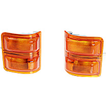 Replacement RF10730002 Mirror Turn Signal Light, Set of 2