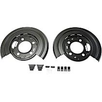 Brake Dust Shields - Direct Fit Rear, Set of 2