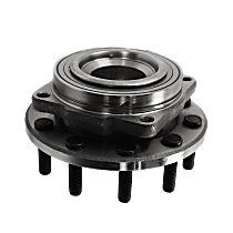 Wheel Hub and Bearing - Front, Driver or Passenger Side, 4 X 2, For Models with 4-Wheel ABS