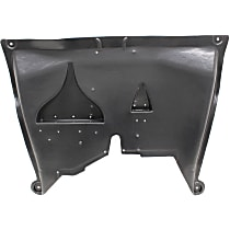 Center Engine Splash Shield - Under Cover, w/ Aluminum Pad, w/o Insulation Foam, Fits 2.0L