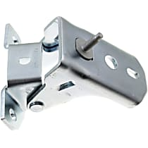 Door Hinge - Front, Driver or Passenger Side, Upper, Chrome, Direct Fit, Sold individually