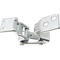 Door Hinge - Passenger Side, Upper - Back Door, Chrome, Direct Fit, Sold individually
