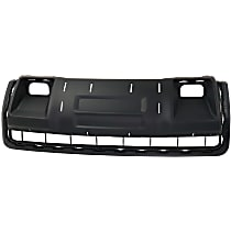 Front Skid Plate, Textured Black, Direct Fit
