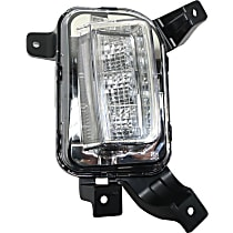 CAPA Certified Passenger Side Driving Light, With bulb(s)