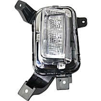 CAPA Certified Driver Side Driving Light, With bulb(s)