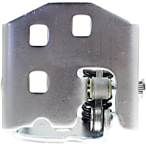 Door Hinge - Front Or Rear, Passenger Side, Lower, Chrome, Direct Fit, Sold individually