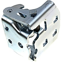 Door Hinge - Front Or Rear, Driver Side, Lower, Chrome, Direct Fit, Sold individually