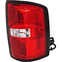 CAPA Certified Passenger Side Tail Light