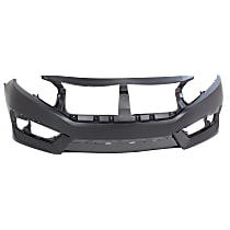 Bumper Cover - Front, 1 Piece, Primed