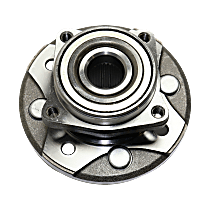 Front, Driver or Passenger Side Wheel Hub Assembly, Pre-Pressed
