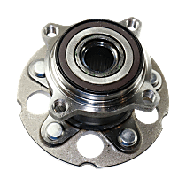 Rear Wheel Hub Bearing Assembly Driver or Passenger Side, For AWD
