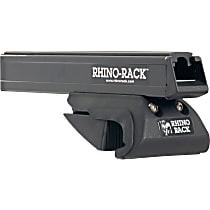 Roof Rack - Powdercoated Black, Aluminum Alloy, Direct Fit, Set of 2