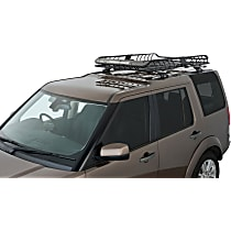 Rhino-Rack RMCB02 Cargo Basket - Powdercoated Black, Steel, Universal, Sold individually
