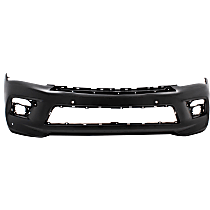 Front Bumper Cover, Primed - w/o Collision Warning, CAPA CERTIFIED