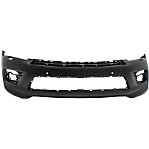 Front Bumper Cover, Primed - w/ Collision Warning