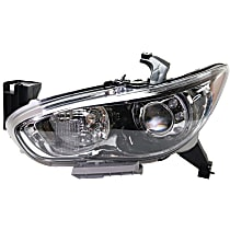 CAPA Certified Driver Side HID/Xenon Headlight, With bulb(s)
