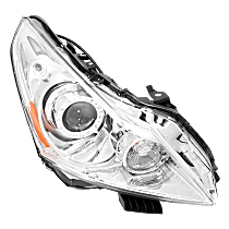 Headlight - Passenger Side, HID/Xenon, With Bulb(s), With HID Bulb and Ballast; With Parking and Signal Light Bulbs