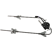Front, Driver Side Power Window Regulator