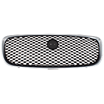 Grille Assembly - Chrome Shell with Painted Black Insert