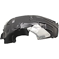 Fender Liner - Front, Passenger Side, Except Rubicon Model