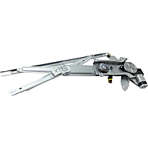 Front, Passenger Side Power Window Regulator, With Motor