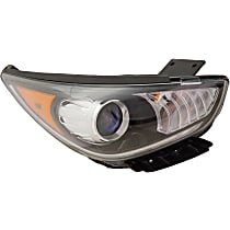 Passenger Side Halogen Headlight