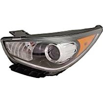 Driver Side Halogen Headlight