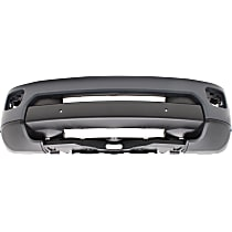 Front Bumper Cover, Primed - w/ Park Sensor & Headlight Washer Holes, w/o Cam