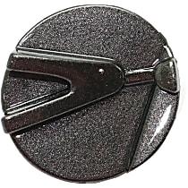 Grille End Cap - Textured Black, Passenger Side