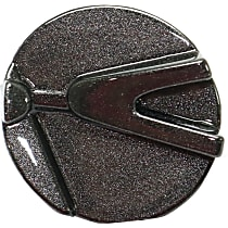 Grille End Cap - Textured Black, Driver Side