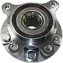 Front Wheel Hub Bearing Assembly, Driver Side For AWD Models