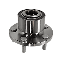 Front Wheel Bearing and Hub Assembly, Driver or Passenger Side For AWD Models