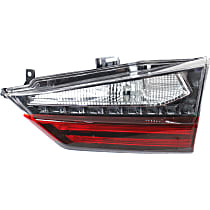Passenger Side, Inner Tail Light, With bulb(s) - Clear & Red Lens, Standard, Canada/Japan Built