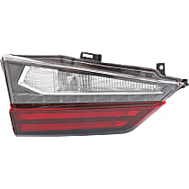 Driver Side, Inner Tail Light, With bulb(s) - Clear & Red Lens, Standard, Canada/Japan Built