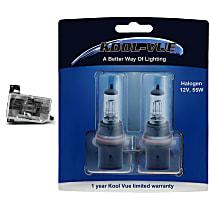 Headlight Bulb - Driver and Passenger Side, 9004 (HB1) Bulb Type