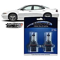 Headlight Bulb - Driver and Passenger Side, 9007 (HB5) Bulb Type
