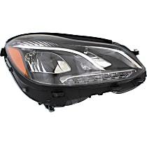 Passenger Side LED Headlight, With bulb(s)