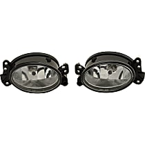 Driver and Passenger Side Fog Light, With bulb(s)