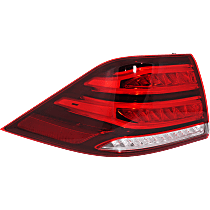 Driver Side, Outer Tail Light, With bulb(s)