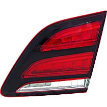 Passenger Side, Inner Tail Light, With bulb(s)
