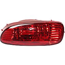 Fog Light Assembly - Rear, Passenger Side, Hatchback, S/John Cooper Works Model
