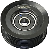 Replacement RN31740001 Accessory Belt Idler Pulley - Direct Fit, Sold individually Grooved Pulley