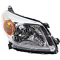 CAPA Certified Passenger Side Halogen Headlight, Without bulb(s)