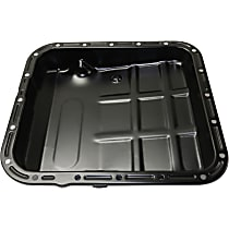Replacement RS31860001 Transmission Pan - Black, Steel, Direct Fit, Sold individually