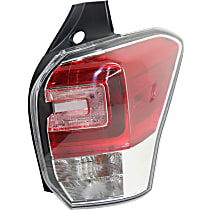 Passenger Side Tail Light, With bulb(s)