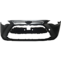 Front Bumper Cover, Primed, Sedan