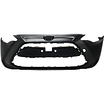 CAPA Certified Front Bumper Cover, Primed, Sedan