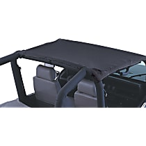 Black denim Soft Top - Without Frame (Requires Factory Frame)